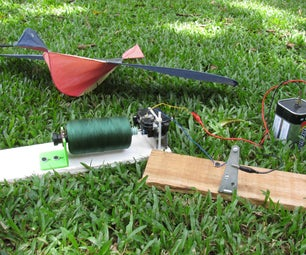 Motorized Kite String Winder! - a Piece of Junk That Works