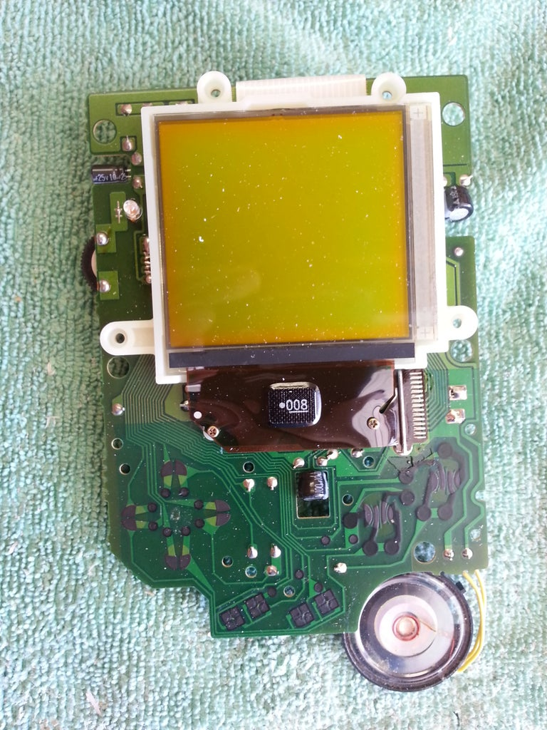 Game Boy Mod - Front Circuits