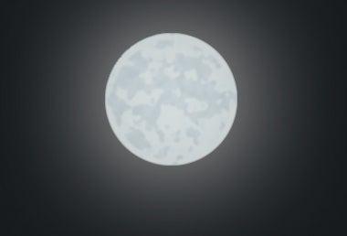 Make the Moon Look Hapier.