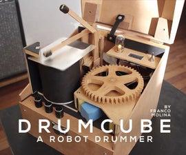 Drumcube,Arduino机器人鼓手