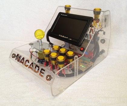 NaCade - the Naked Raspberry Pi Arcade Machine