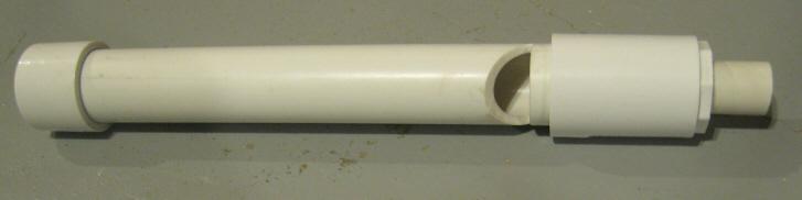 Simple PVC Whistle