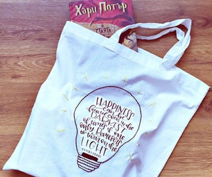 Stylish and Environmentally Friendly Harry Potter Tote Bag