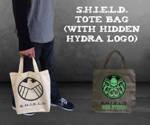 S.H.I.E.L.D. Tote Bag (With Hidden Hydra Logo)