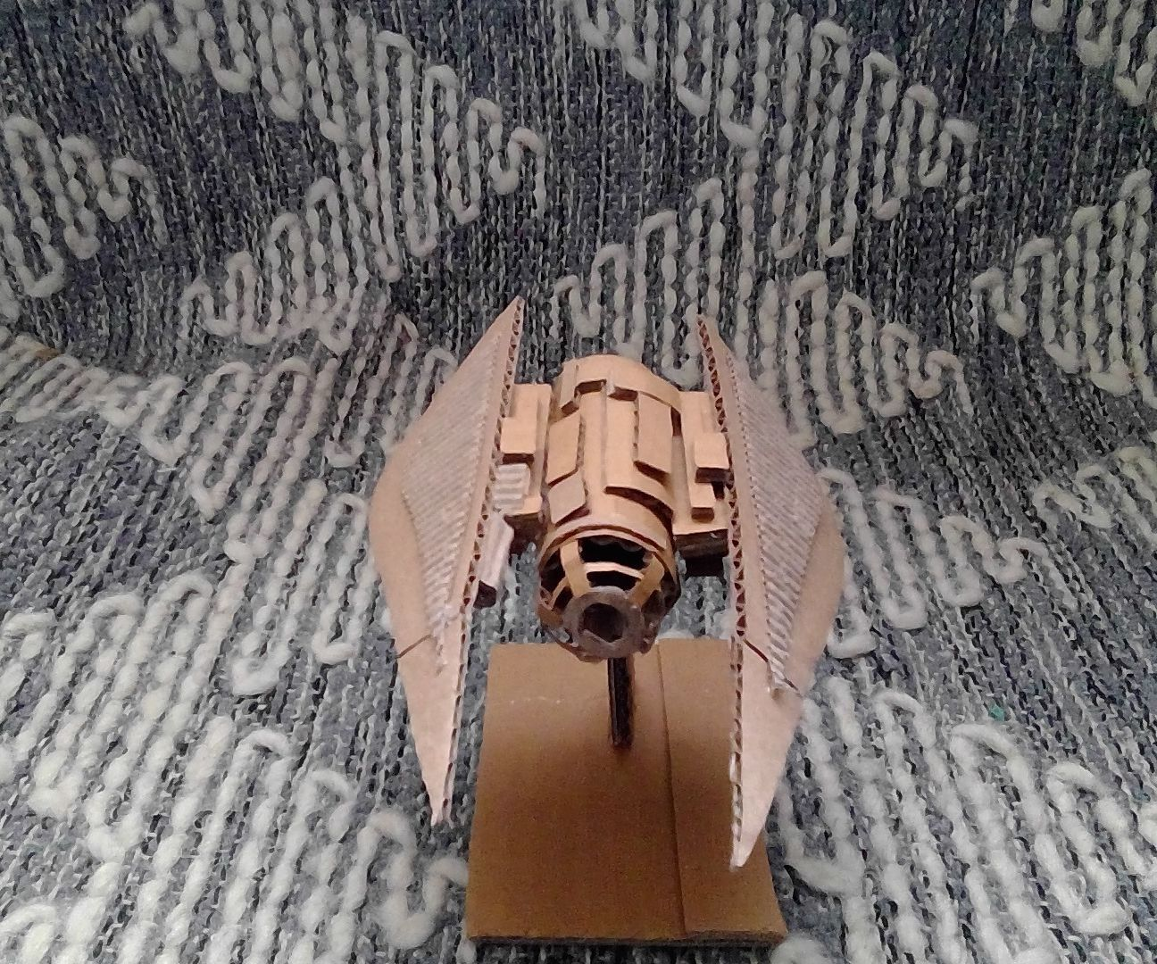 Cardboard Model Star Fighter