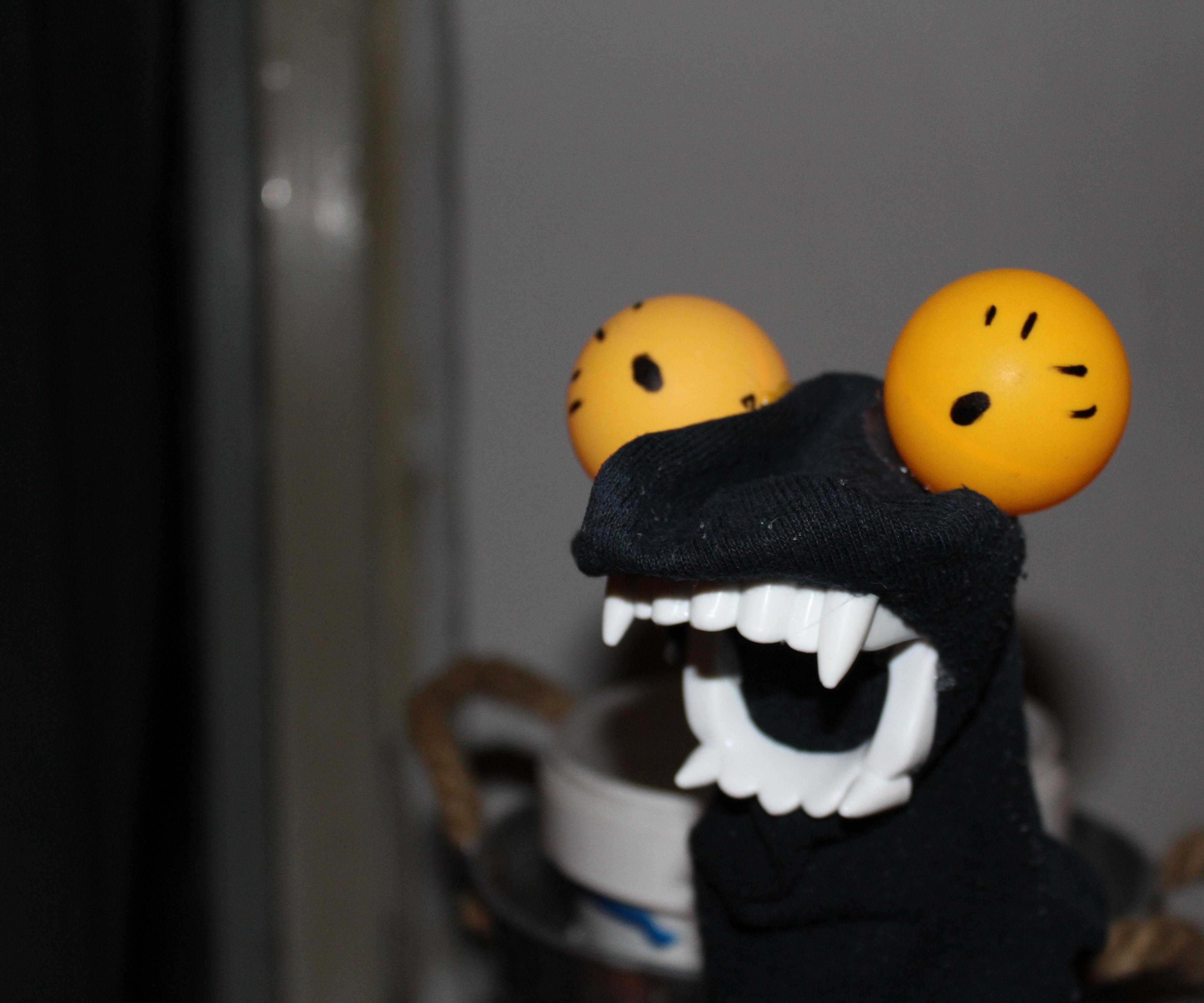 Vampire Sock Puppet