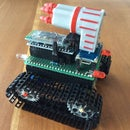 Tiny Smartphone Controlled Arduino Tank