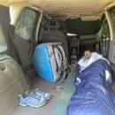 Sleep in a Small Mercedes Benz a Class