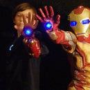 Iron Man Tony Stark and Armor