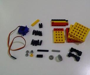 Servo SG90 With Unmodified Lego