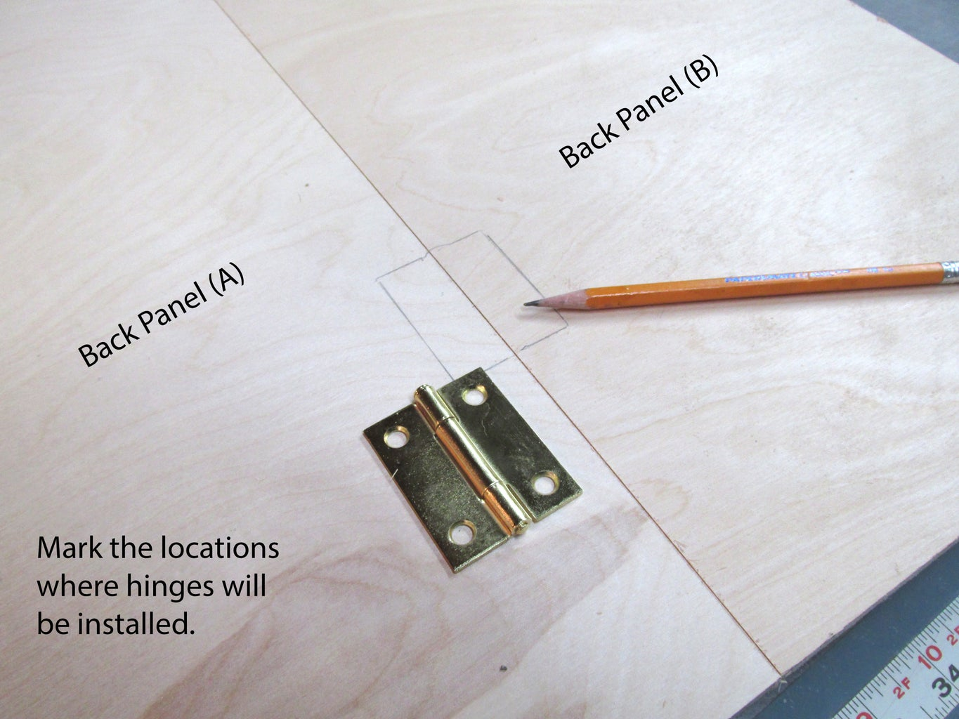 Making the Back Panel
