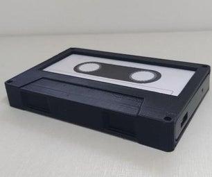 Cassete Shaped HD Case
