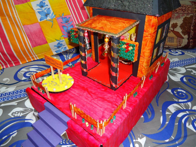 Decorative temple model project