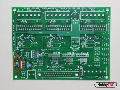 Install (1) 4.53K Resistor.