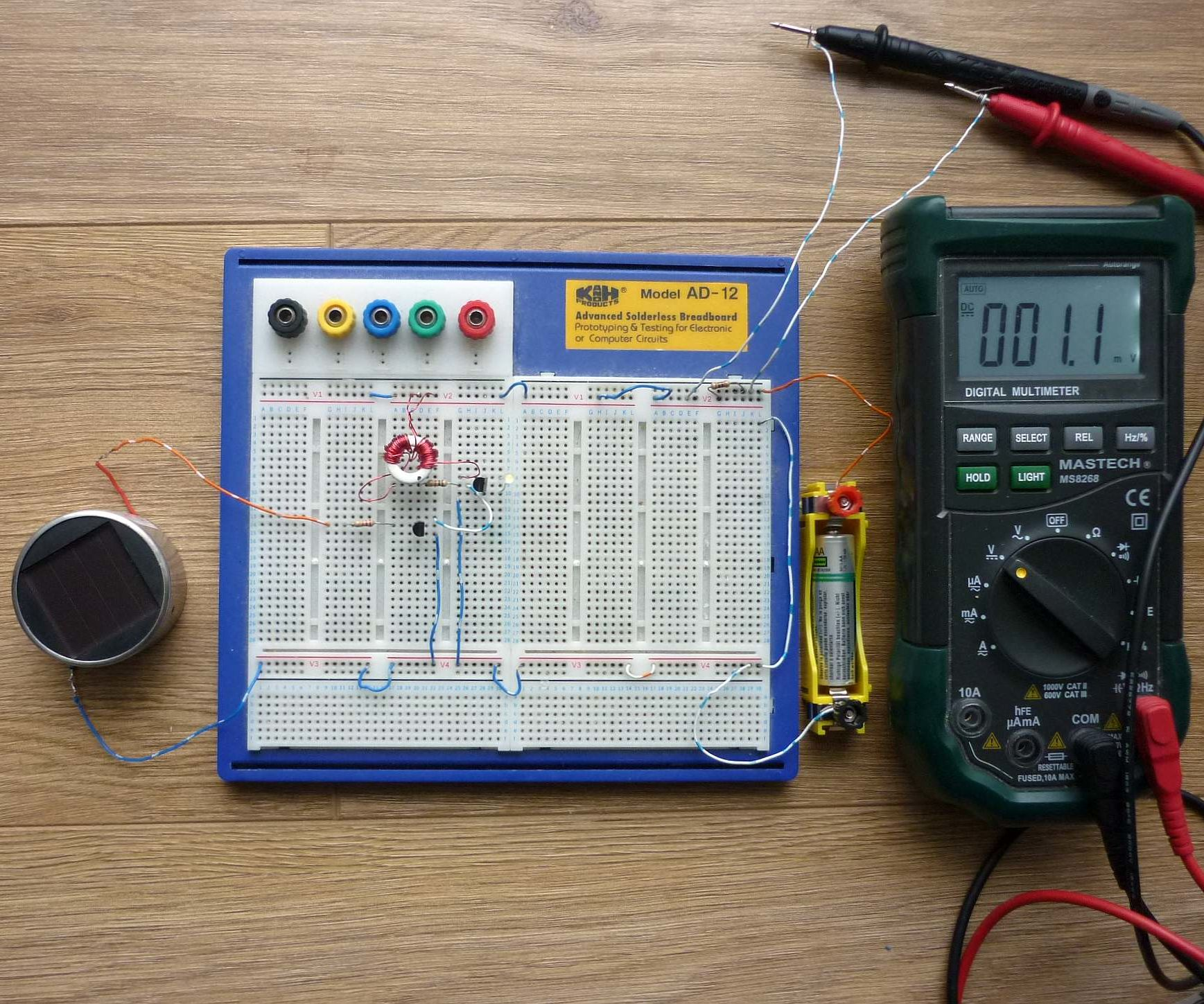 How to Switch Off a Joule Thief During Daylight