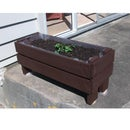 Pedestal Peppermint Patch Planter