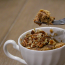 Easy Oatmeal Almond Butter Mug Cake