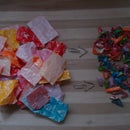 How to make a Starburst wrappers chain