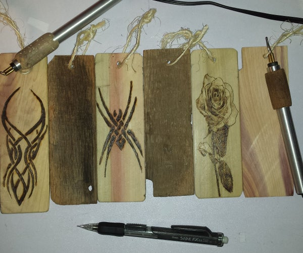 Pyro-Carpenter Bookmarks