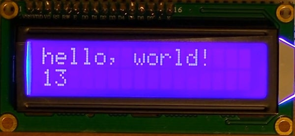 How to Use a 16X2 LCD Display With an Arduino, TI Launchpad, or Breadboarded MSP430