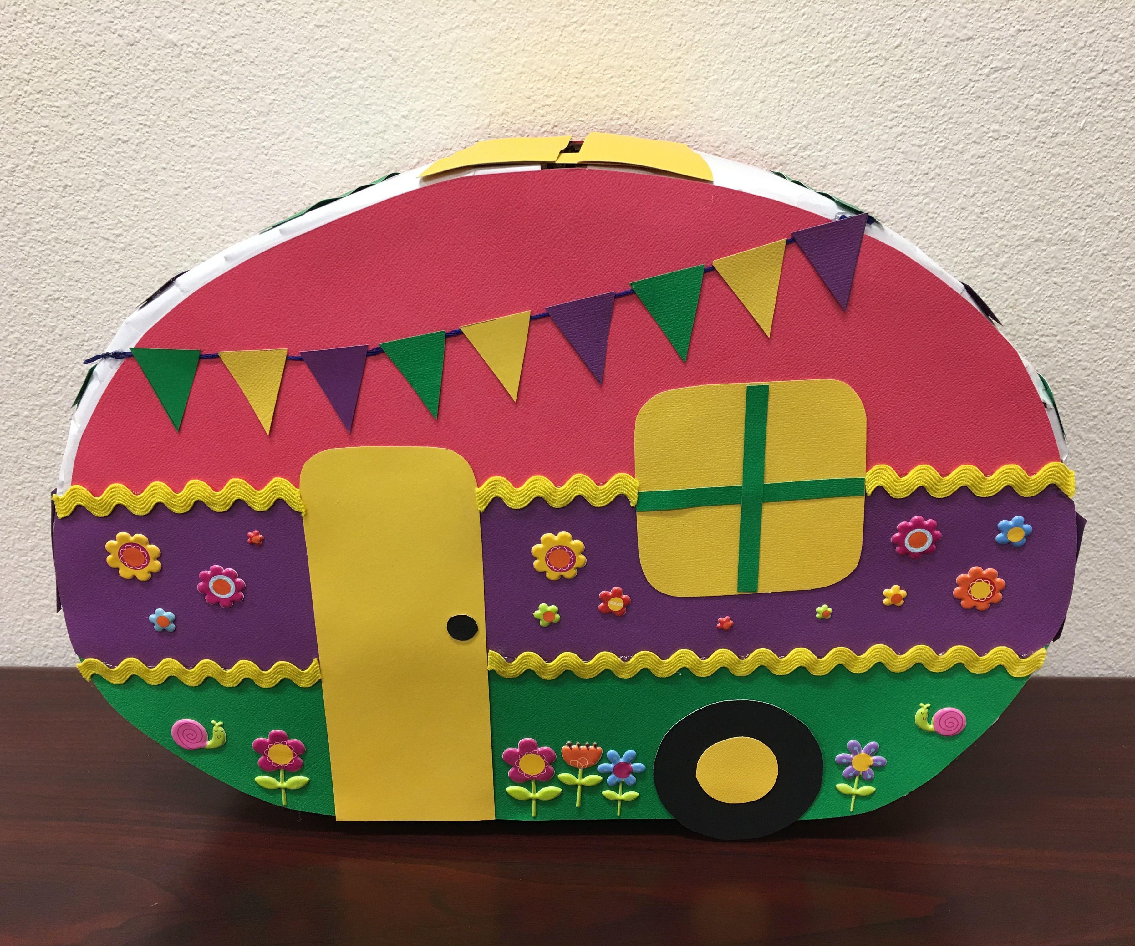 Camper Valentine Box
