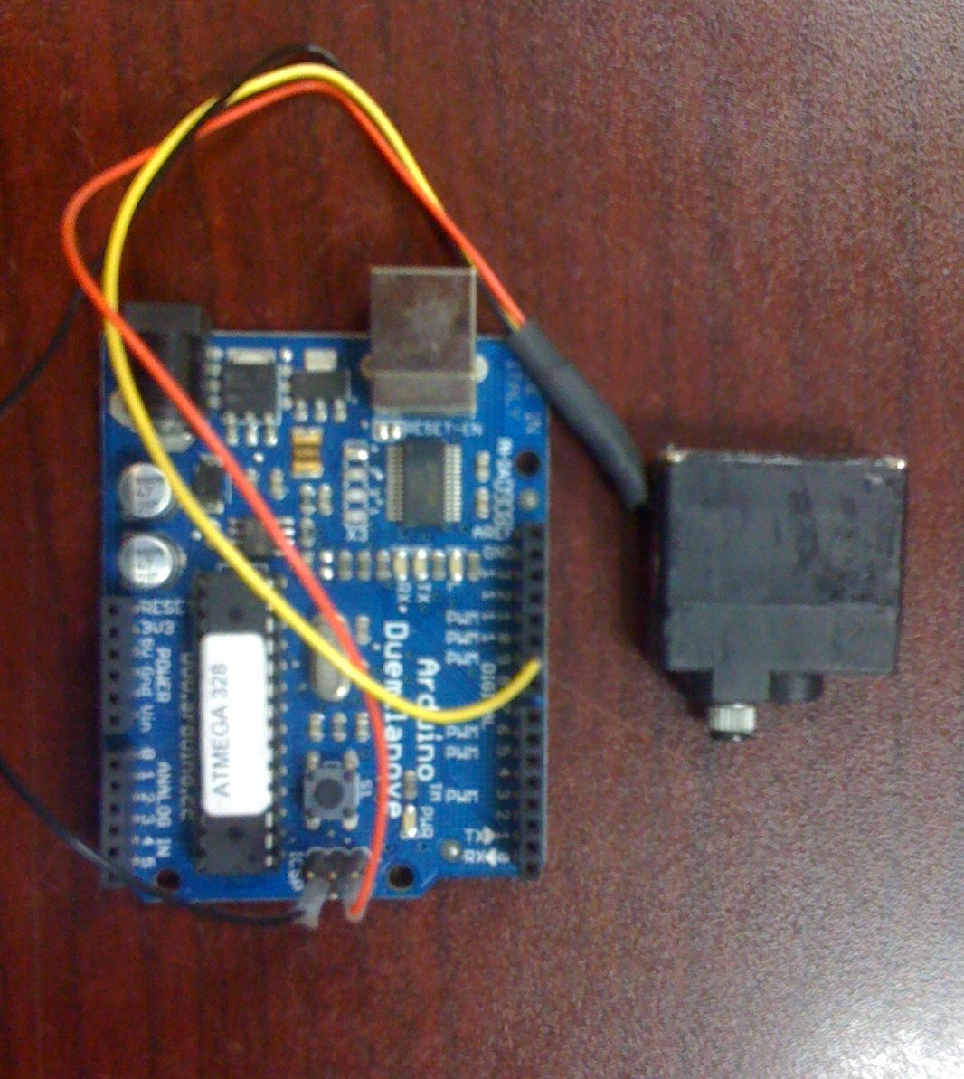 Arduino Controlled Servo Exerciser