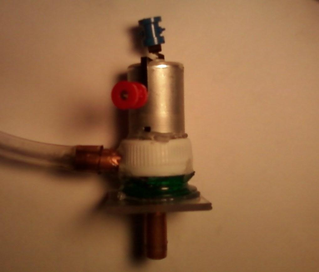 A homemade water pump