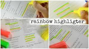 Easy Rainbow Highlighter
