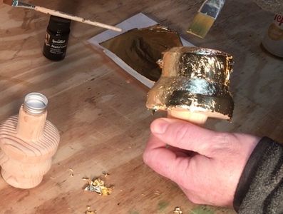 GOLD PAINTING / GOLD LEAFING