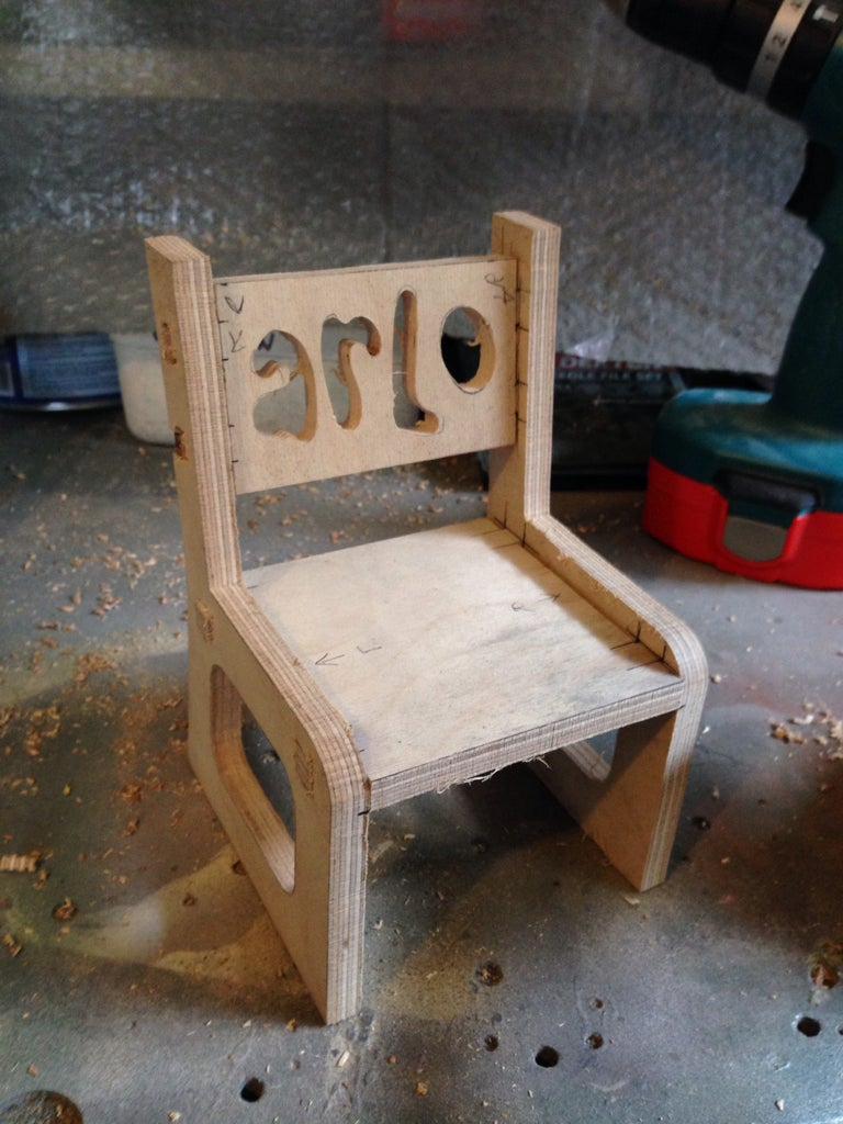 Sanding and Gluing