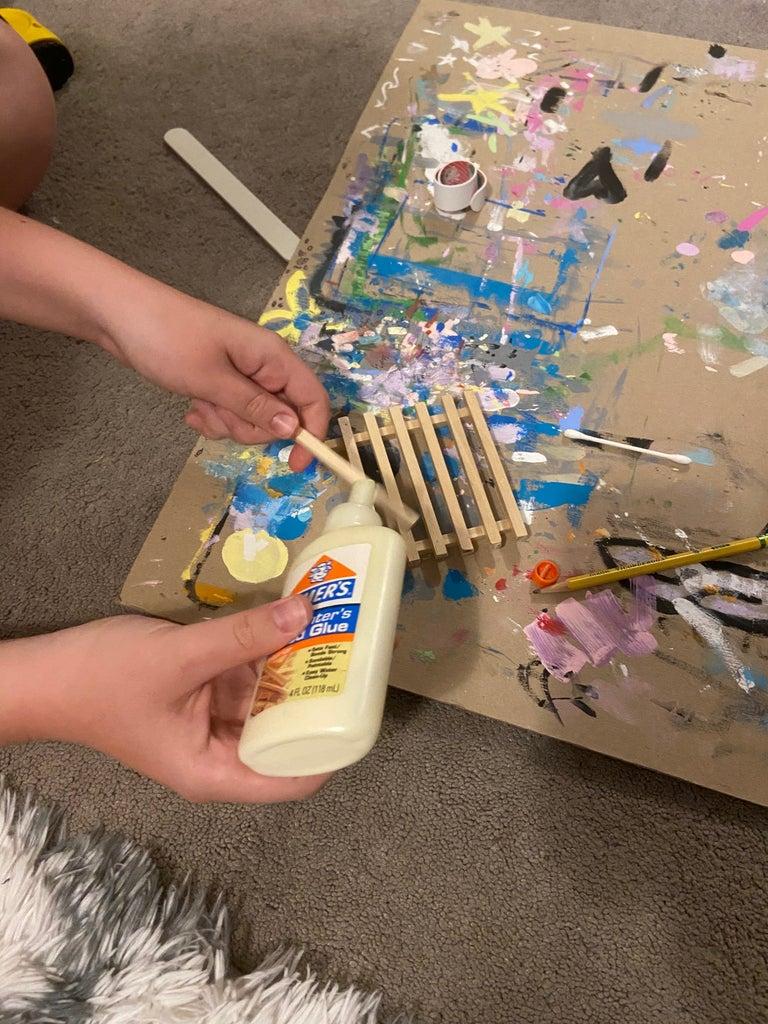 Glue Pieces Together