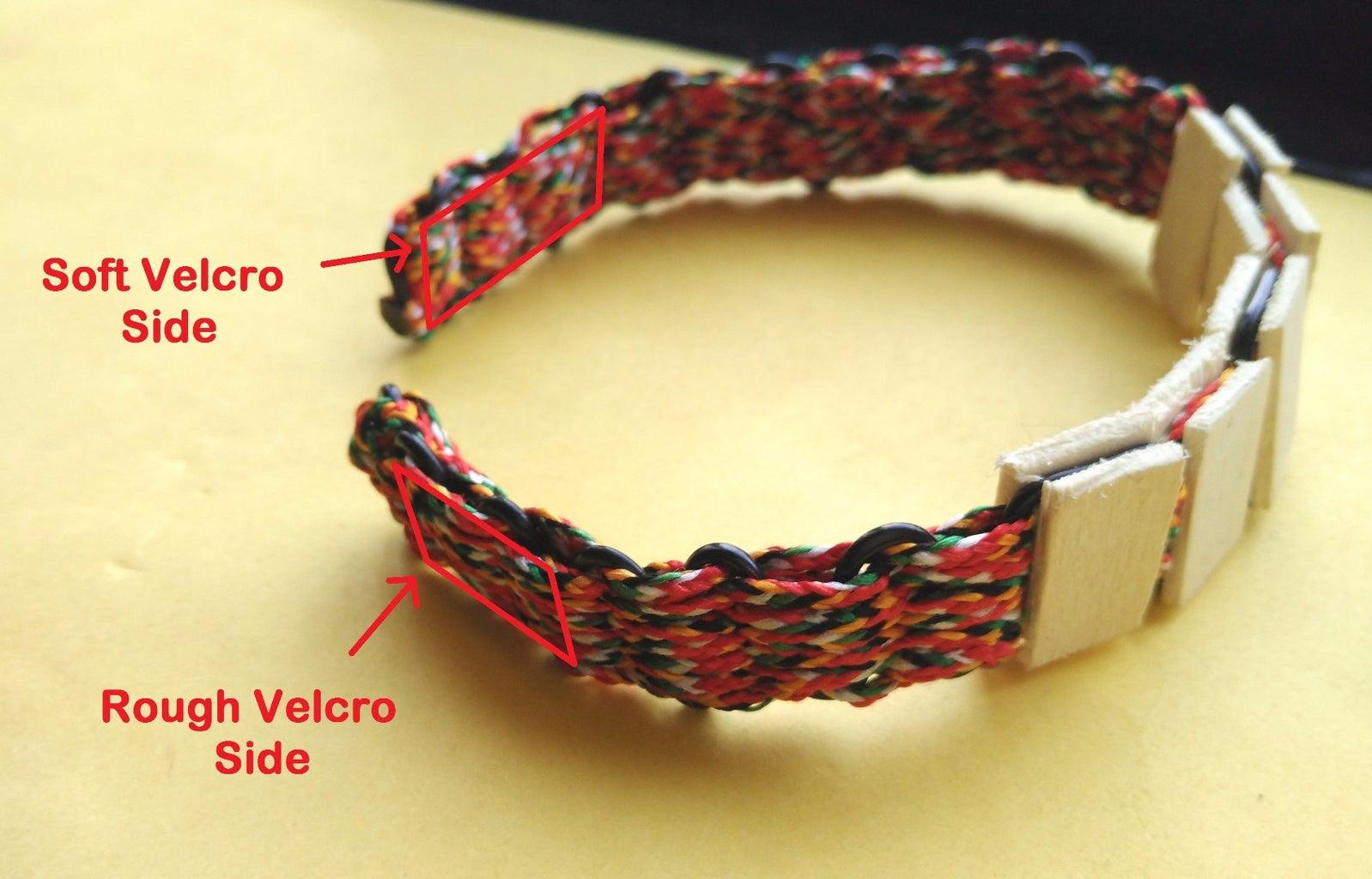 Attach Velcro