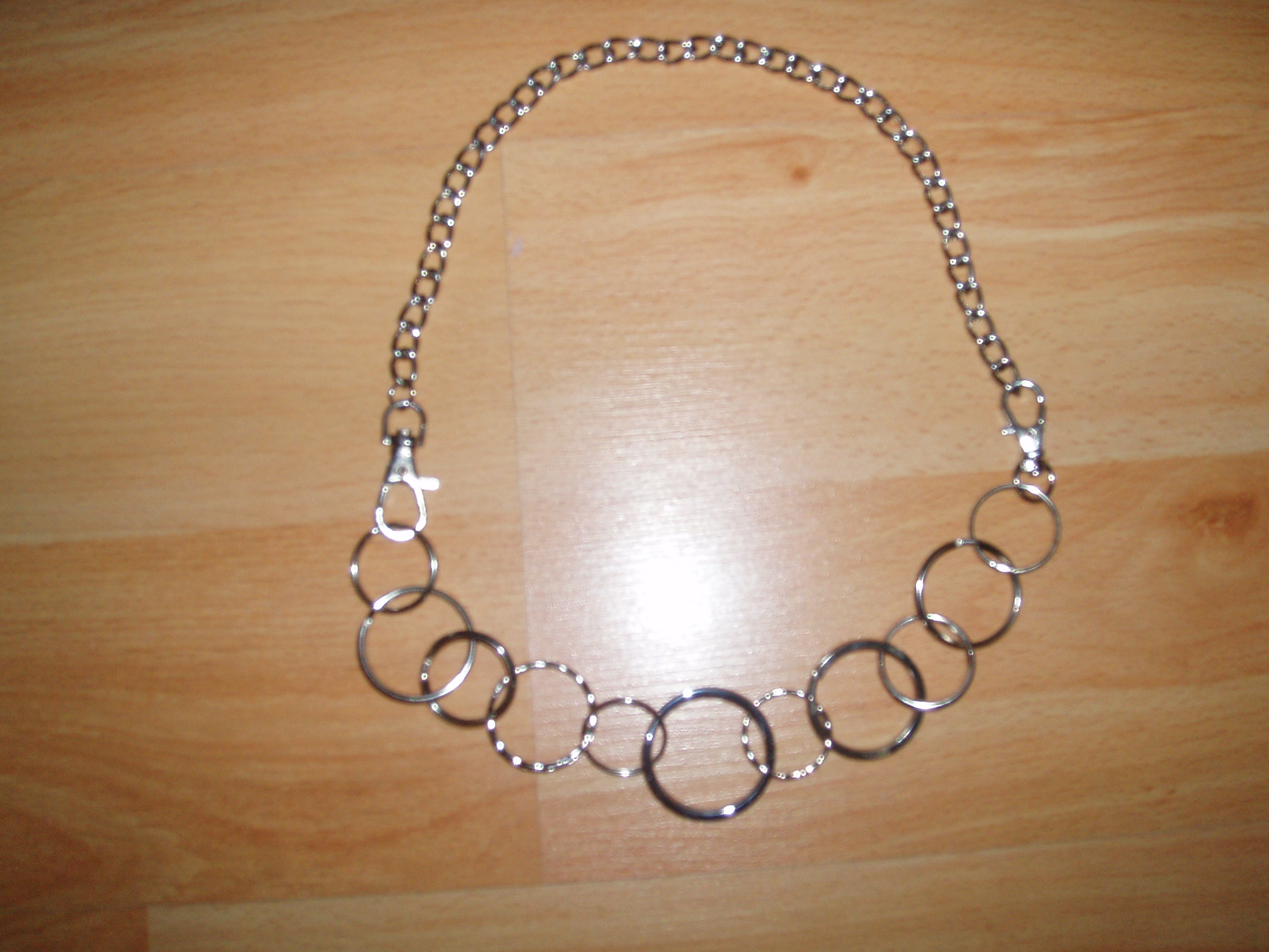 key ring necklace