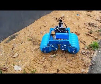 How to Build a Screw-Propelled Vehicles