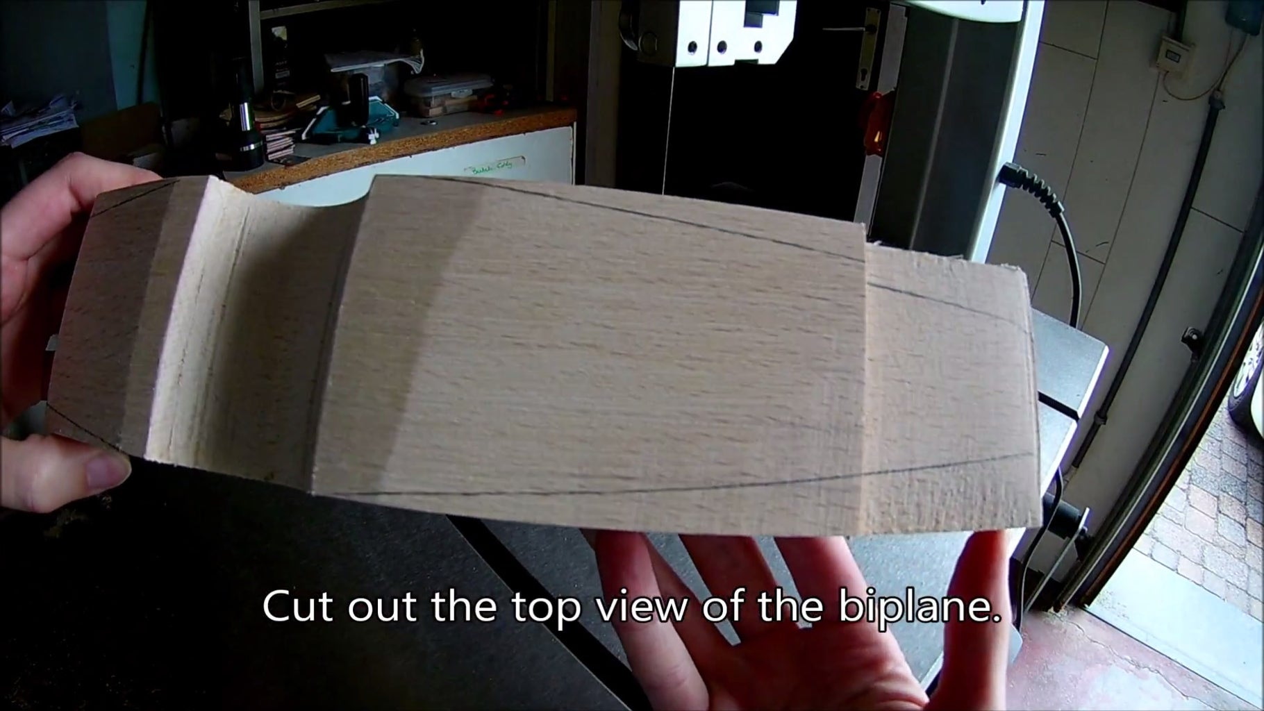 Step 1: Body of the Biplane