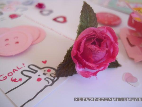 DIY Flower Button Magnet
