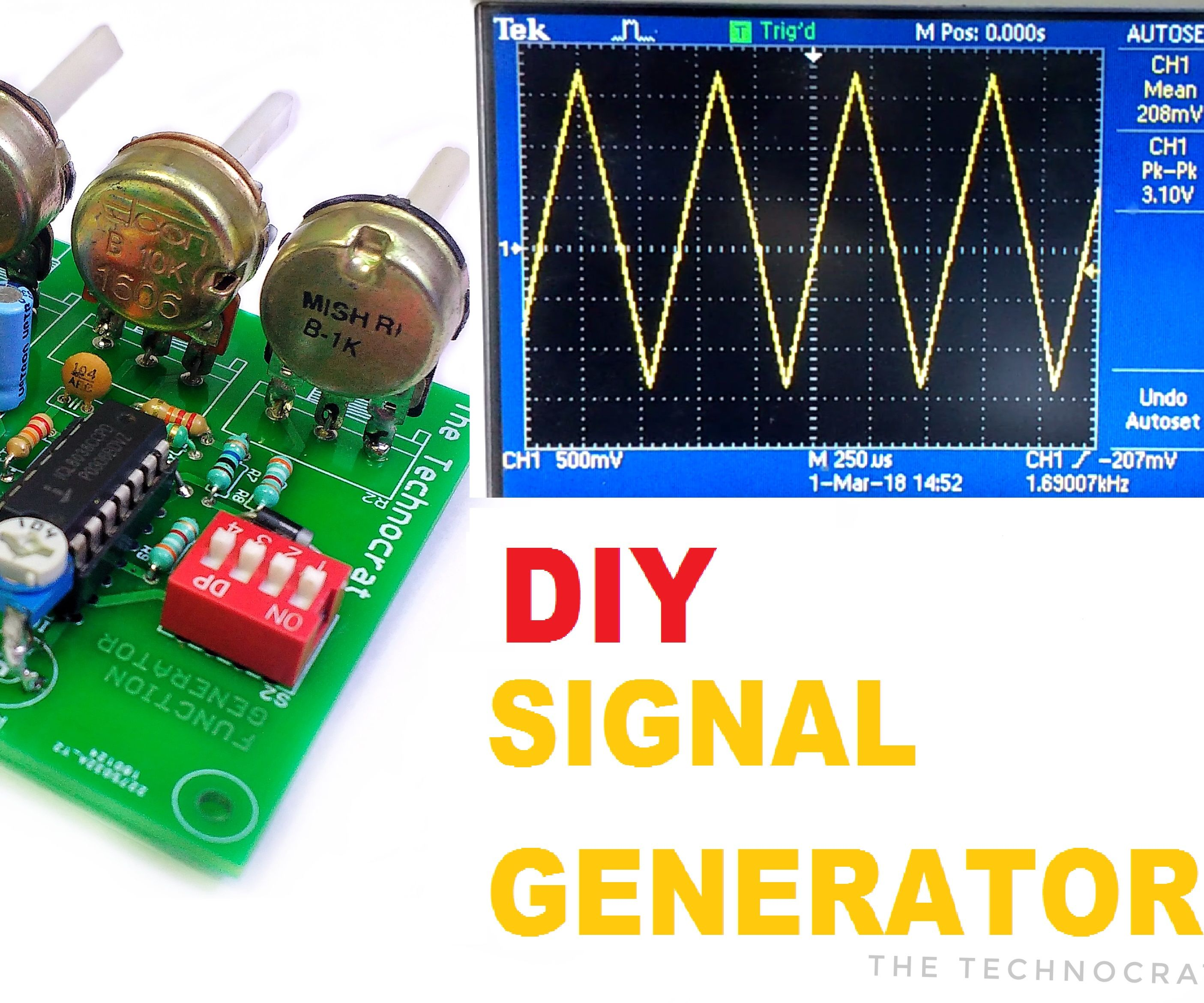 How to Make a Signal Generator| Learn to Generate Electrical Signals