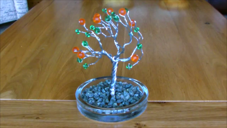 Make A Wire Tree Sculpture!