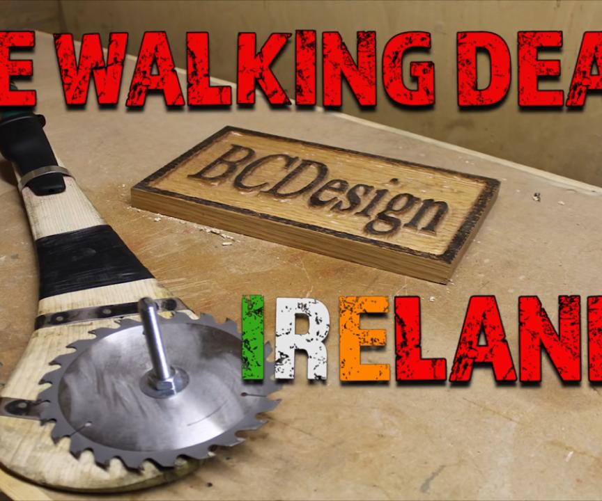 The Walking Dead Ireland / Zombie Weapon Challenge 2016