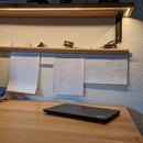 Easy Office Note Rail From Wood