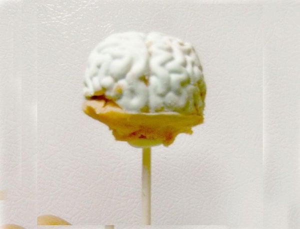 How to Make Brain Cake Pops