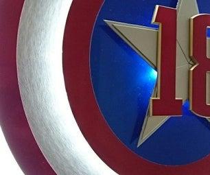 Captains Birthday Shield
