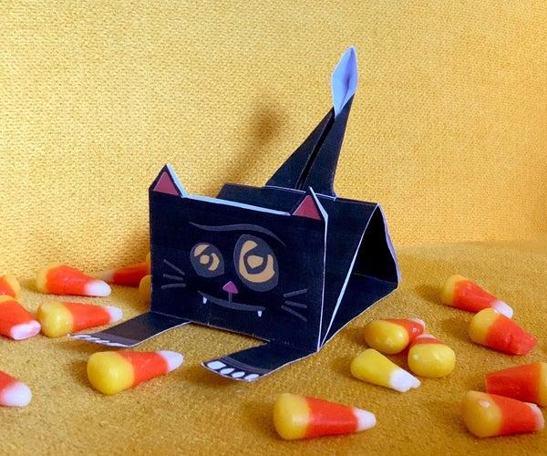 Black-cat-a-pult