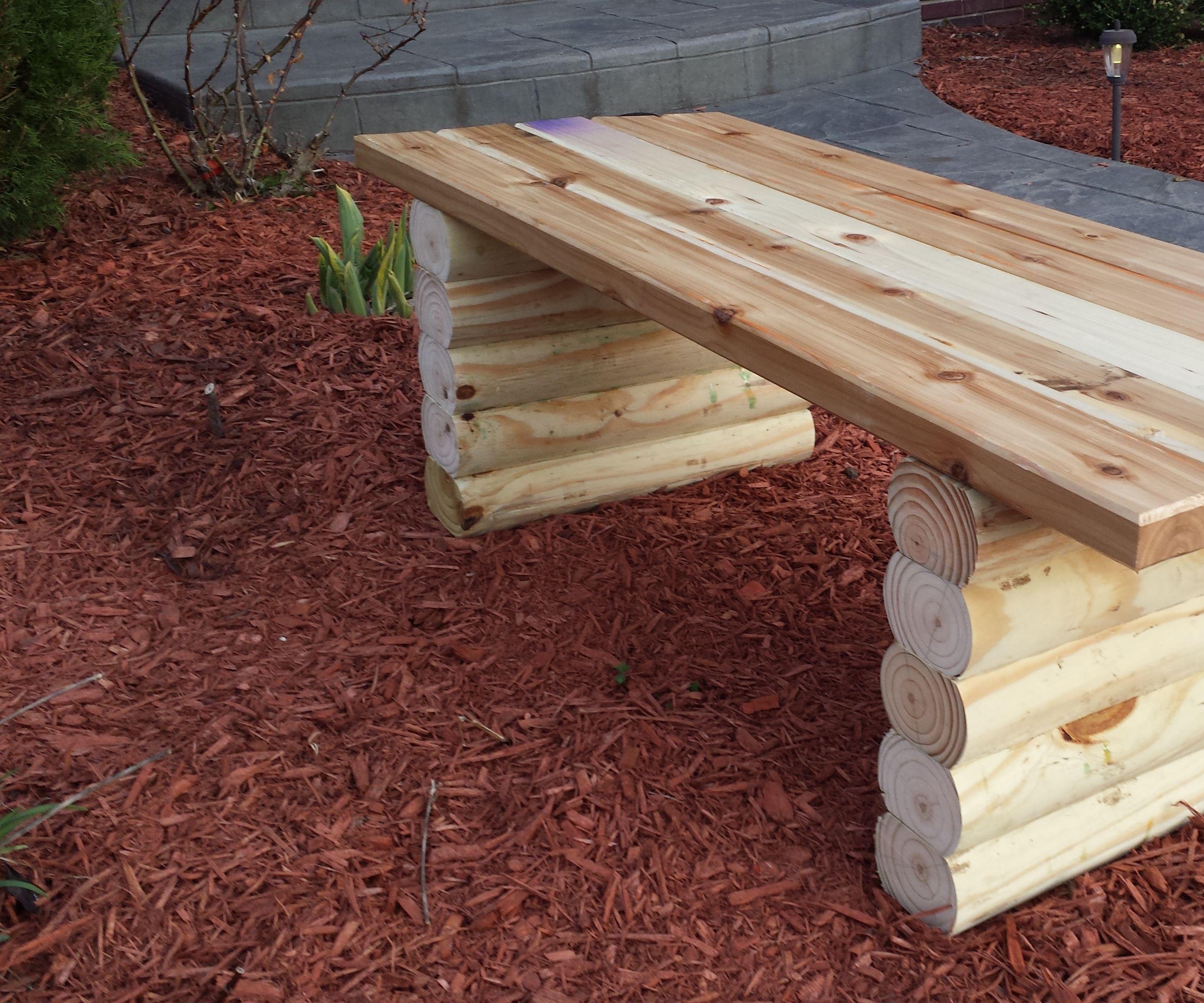Easy Garden Bench