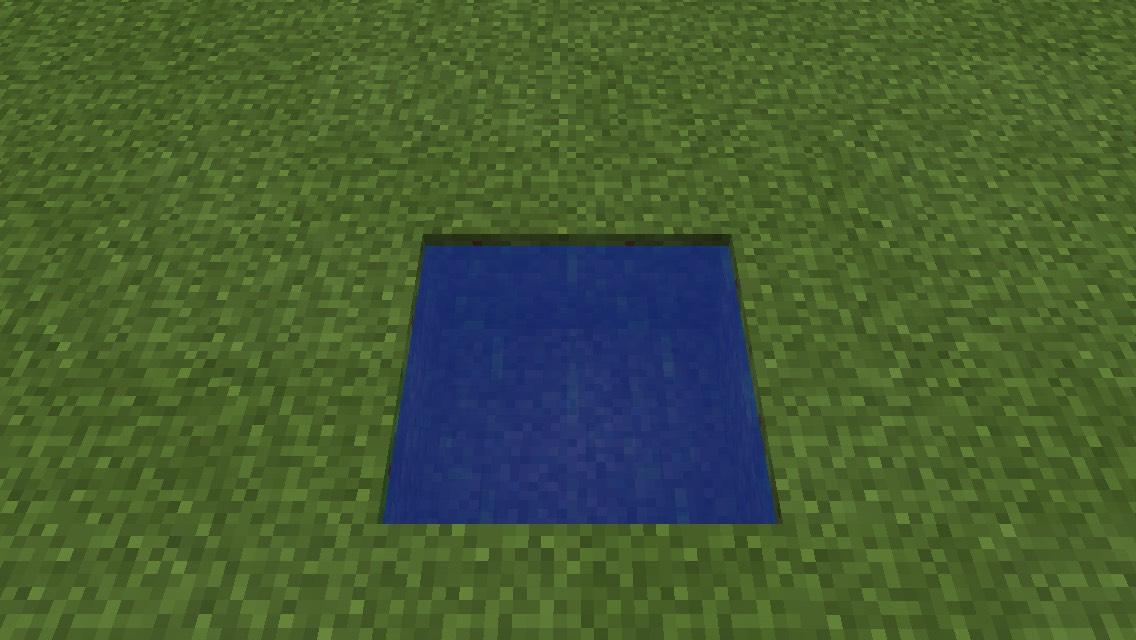 Minecraft Infinity Water Source