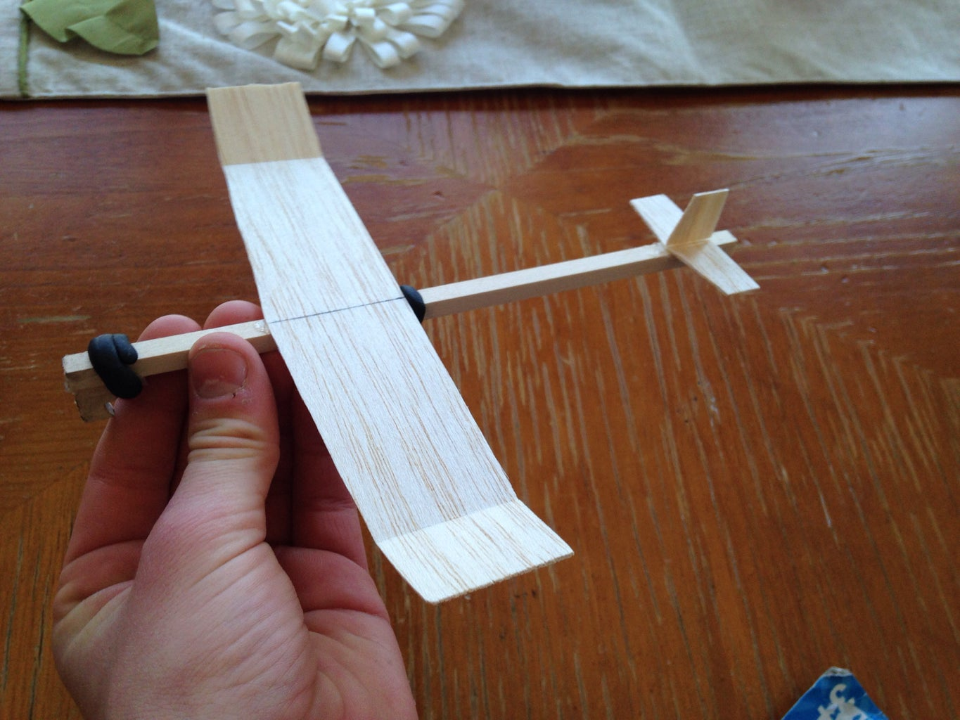 Now Glue the Stabilizers and Wings Onto the Fuselage