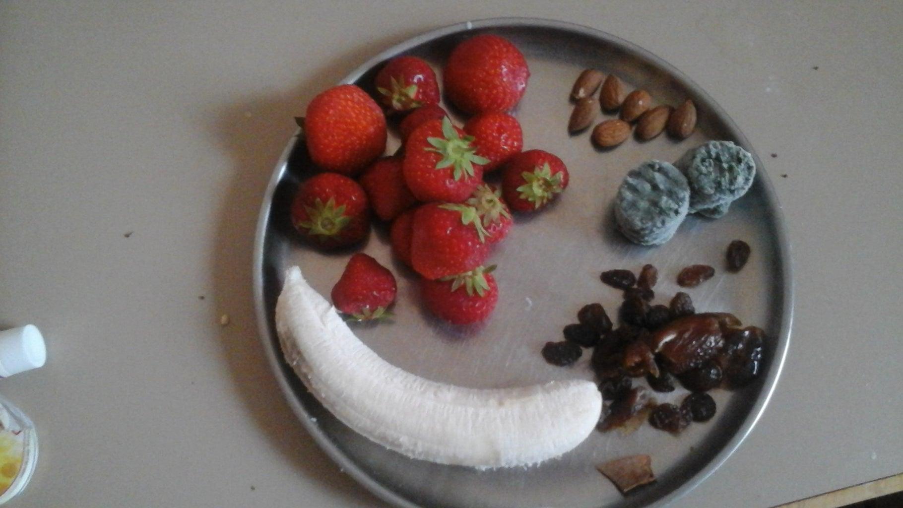 Strawberry Short Cake Green Smoothie: