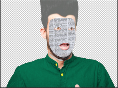 Step 4 - Creating the Paper Face