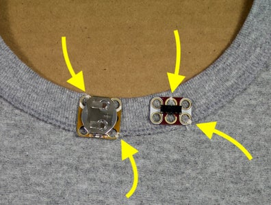 Sew the Components in Place