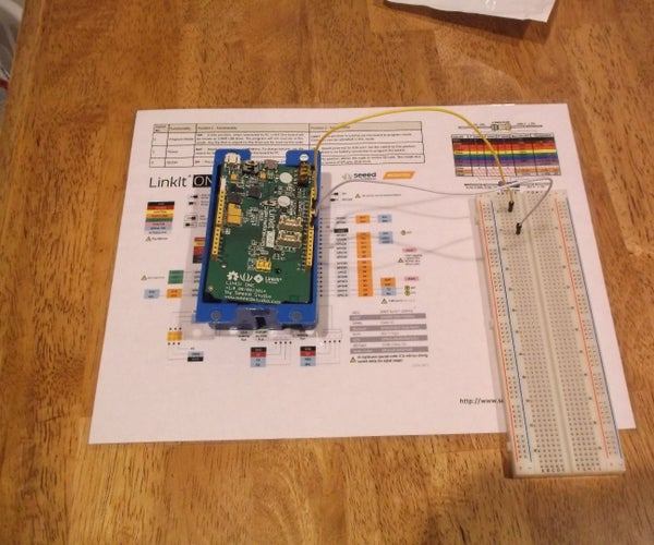 Linkit One Prototyping Workspace